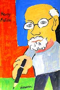 Portrait of Henry Matisse